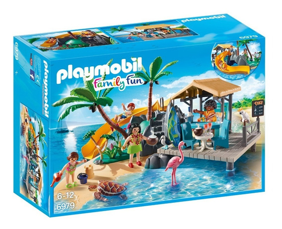 Playmobil 6979 Island Juice Bar Family Fun Geobra