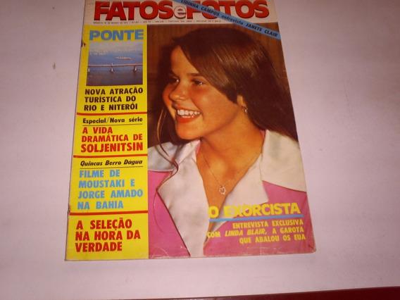 Revista Fatos Fotos Nº 657 - 03/74 - Ponte Rio Niteroi