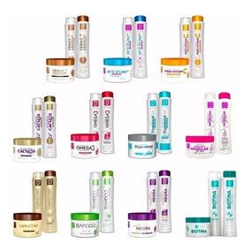 Shampoo + Condicionador + Máscara Hidratação = 15 Produtos