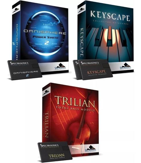 Omnisphere 2 - Keyscape + Trilian - Envio Imediato