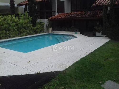 Ótima Localização. Casa 4 Quartos, 3 Suítes Ao Lado De Itacoatiara - Ca0017