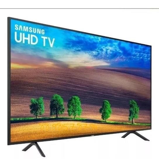 Smart Tv Led 40 Samsung Ultra Hd 4k 40nu7100 Conversor