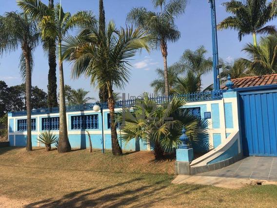 Chácara Com 3 Dormitórios À Venda, 1500 M² Por R$ 540.000,00 - Chácara Primavera - Sumaré/sp - Ch0098