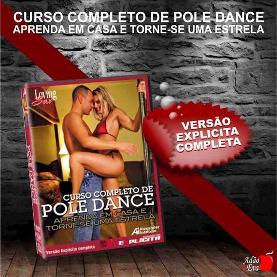 Dvd Curso Completo De Pole Dance (lov17 - St282) Padrão