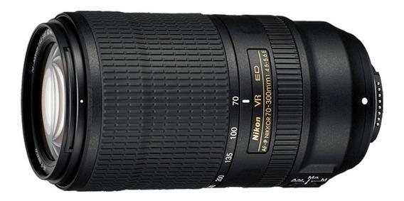 Lente Nikkor 70-300mm F4.5-5.6 E Ed Vr Af-p