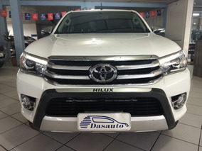 Toyota Hilux 2.8 Srx 4x4 Cd At - 2017 Branca Dasauto