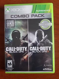 Call Of Duty Combo Pack 1 & 2 Para X Box 360