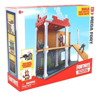 Fortnite Playset Mega Fort Con Accesorios Y Figuras Lelab