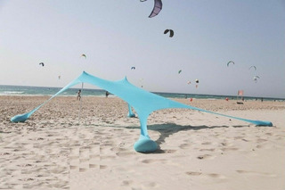Gazebo Plegable Sombrilla Playa Arena