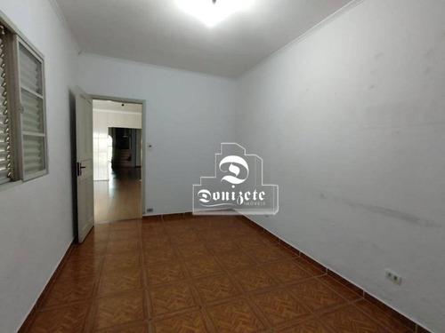 Casa Com 1 Dormitório Para Alugar, 150 M² Por R$ 2.400,00/mês - Centro - Santo André/sp - Ca1139