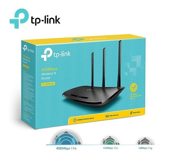 Roteador Wireless N De 450mbps Tl-wr 949n Tp-link