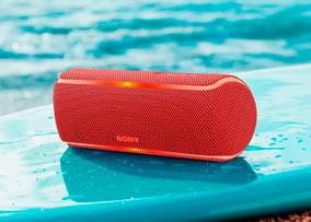 Caixa De Som Sony Speaker Srs-xb21, Vermelha, Bt, Wireless