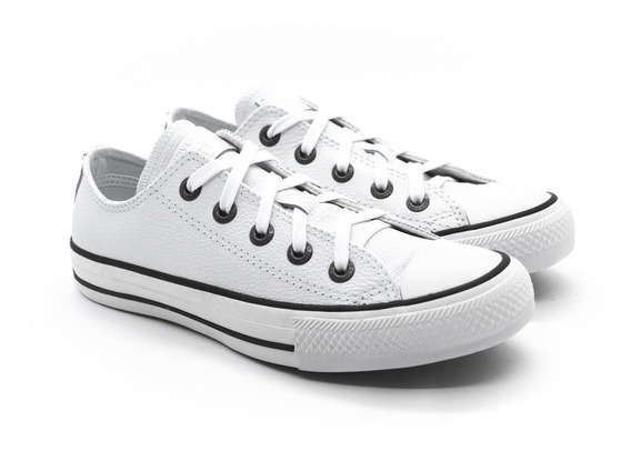 Tênis Converse Chuck Taylor All Star Ox Ct04480001 Couro