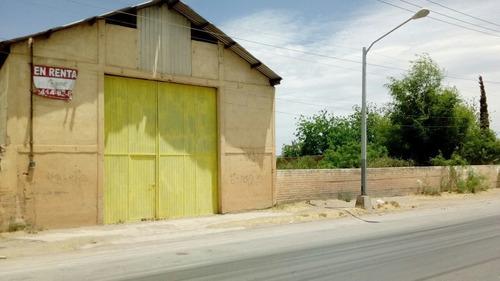Imagen 1 de 2 de Bodegas En Renta Lombardo Toledano Chihuahua