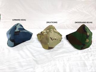 Barbijos Personalizados Lavable Camuflados Y Lisos C/bolsill