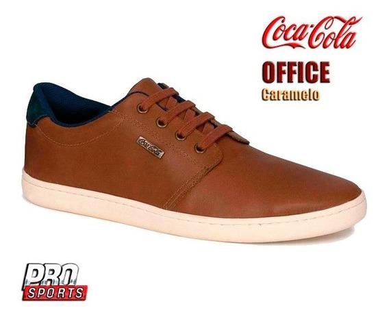 Coca Cola Tênis Office Caramelo - Original - Ey