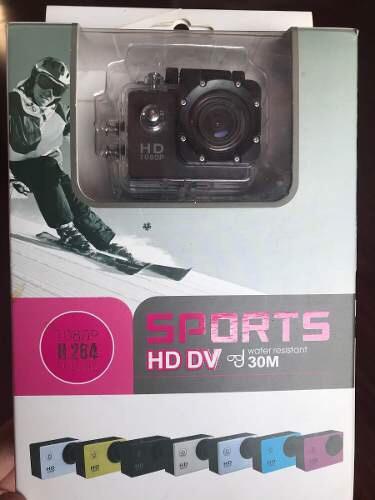Câmera Sports Hd Dv ( Tipo Gopro)