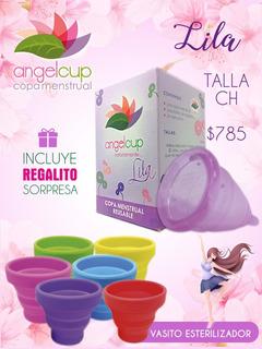 Copa Menstrual Ángelcup Colors+ Vaso Esterilizador+ Regalo