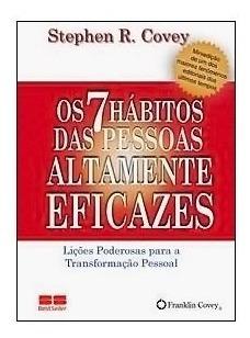 Miniedição - Os 7 Hábitos Das Pessoas Altamente Eficazes - S
