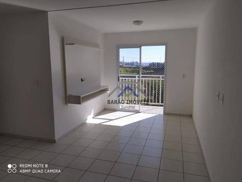 Imagem 1 de 15 de Apartamento À Venda, 71 M² Por R$ 286.200,00 - Jardim Tamoio - Jundiaí/sp - Ap1679