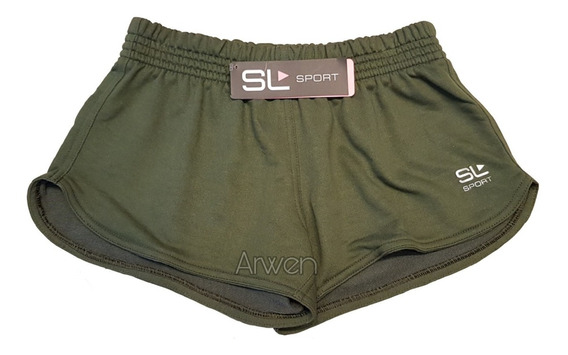 Short Deportivo Liso Army Sweet Lady Sport 20606-001