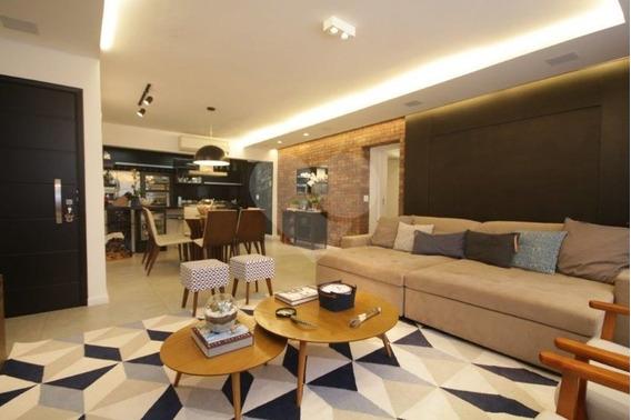 Apartamento 158m² Com Requinte, Sofisticação, Modernidade E Tecnologia - 3-im122750