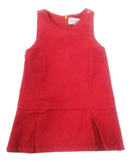 Vestido Gabardina Niñas Marca Pampero Mod Paula 911545000