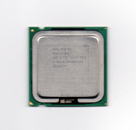 Processador Intel Pentium 4 640 3.20ghz Lga 775 Fsb 800