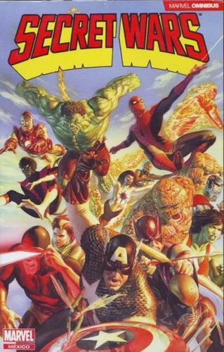 Marvel Comics Omnibus Secret Wars Latino