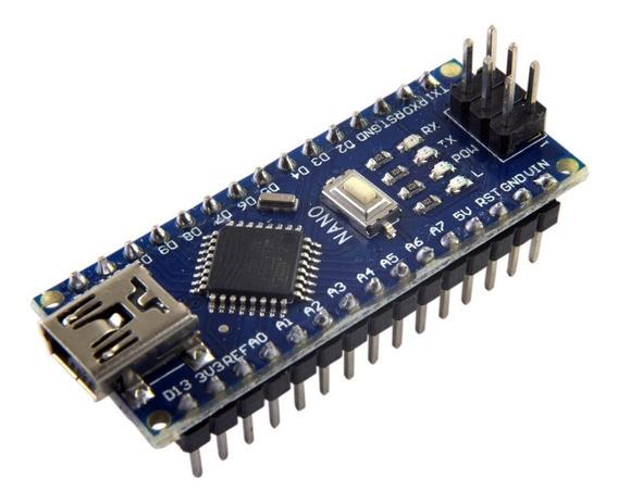 Arduino Nano V3 V3.0 C/ Pinos Soldados