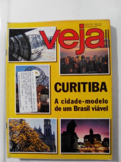 Revista Veja 1281 Curitiba Salvador Bahia Hippie Mader 1993
