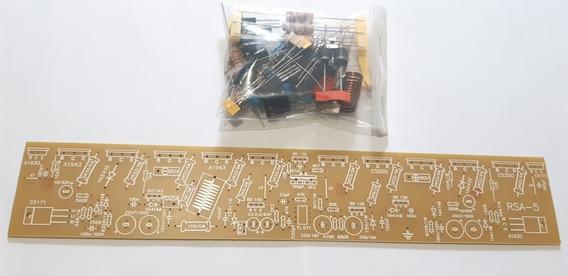 Kit Para Montar 4 Placas Modelo Rsa5 Sem As Saídas.