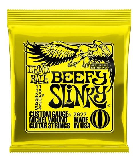 Encordoamento Ernie Ball 2627 Beefy Slinky 11-54