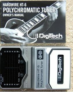 Afinador Pedal Digitech Ht-6 Polyphonic Tuner