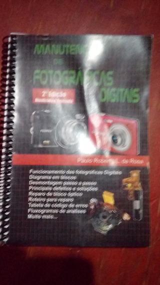 Livro Manutenção De Fotográficas Digitais, Segunda Edição