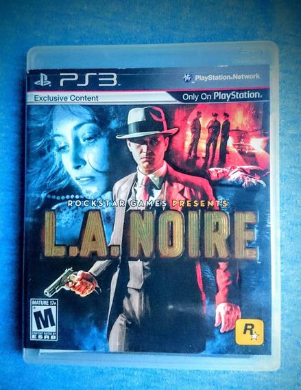 L.a. Noire Rockstar Ps3 M. Fisica Frete R$10
