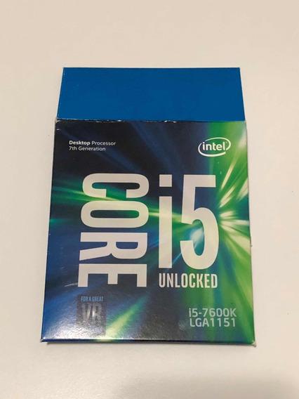 Caixa Do Processador I5 7600k (frete Incluso)