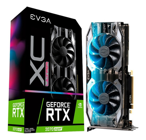 Placa Video Geforce Rtx 2070 8gb Evga Super Xc Ultra Xellers