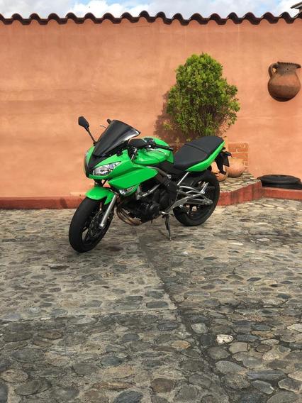 Kawasaki 650cc Año 2009 Color Verde