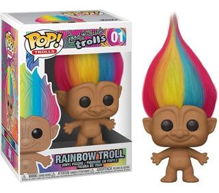 Funko Pop Rainbow Troll 01 Trolls Arcoiris Original Edu