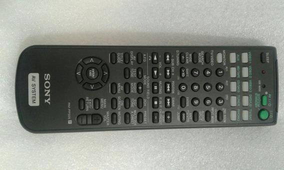 Controle Receiver Sony Rm-pp505 Leia A Descrição