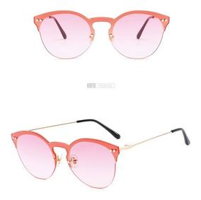 aba6e4bc30 Gafas De Sol Redondas Mujer Gafas Transparente Espejo Uv400