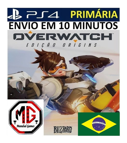 Overwatch Ps4 - Original 1 Psn - Português