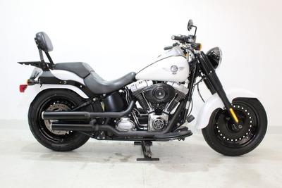 Harley Davidson Softail Fat Boy Special 2011 Branca