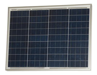 Panel Solar Fotovoltaico 50w Policristalino - Ps50 - Enertik