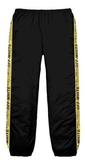 Calça Tactel Rap Industrial Belt Cinto Trap Hype Streetwear