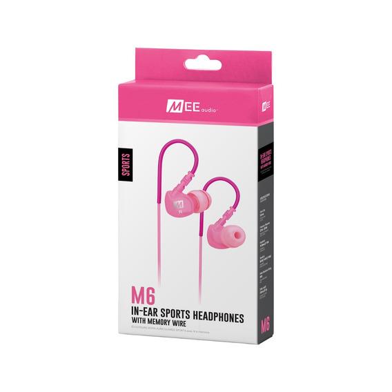 Fone De Ouvido Mee Audio M6 Sport Fitness Pink - 23788