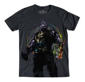 Playera Hombre The Mad Thanos Marvel Infinity War Mascara De