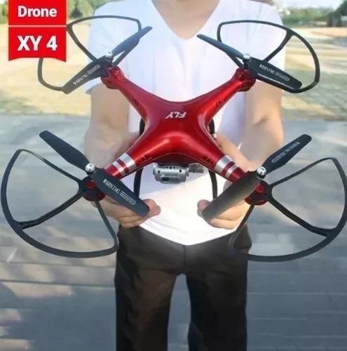 Drone Fly Aircraft Xy4 Câmera 1080p Hd Wifi Gps 2019 Vôo Pro