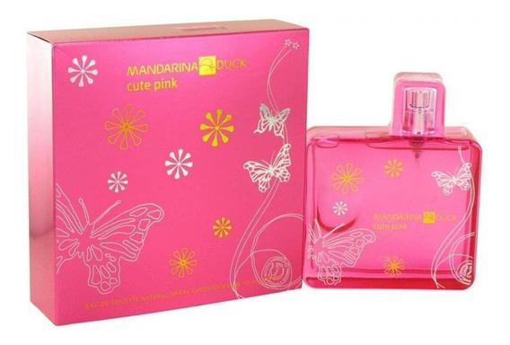 Mandarina Duck Cute Pink Eau De Toilette Feminino 100ml